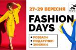 27-29/09 Fashion Days